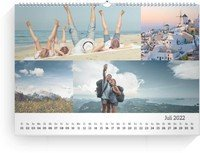 Calendar Blanko Collage Quer 2022 page 8 preview
