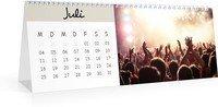 Calendar Monatskalender Hoch Farbenspiel 2022 page 8 preview