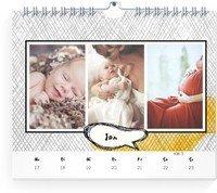 Calendar Wochenkalender Gestrichelt 2022 page 3 preview