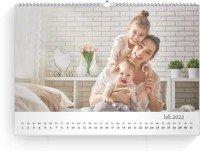 Calendar Blanko quer 2022 page 8 preview