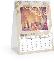 Calendar Monats-Tischkalender Reisefieber 2022 page 9 preview