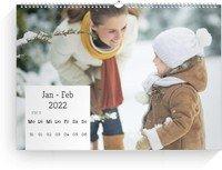 Calendar Wochenkalender Quadrat 2022 page 5 preview