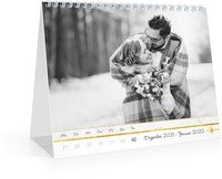 Calendar Tischkalender Marmor 2022 page 2 preview