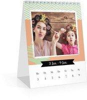 Calendar Wochen-Tischkalender Kunterbunt 2022 page 3 preview