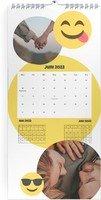 Calendar 3 Monats Kalender Smiley 2022 page 7 preview