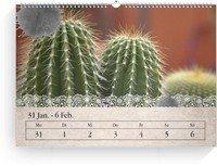 Calendar Wochenkalender Tintenklecks 2022 page 5 preview