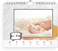 Calendar Wochenkalender Gestrichelt 2022 page 5 preview