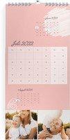 Calendar 3-Monatskalender Sanft geblümt 2022 page 8 preview