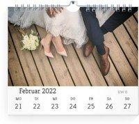 Calendar Wochen-Wandkalender Blanko 2022 page 10 preview
