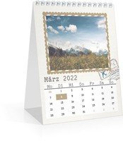 Calendar Monats-Tischkalender Reisefieber 2022 page 4 preview
