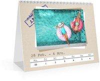 Calendar Wochen-Tischkalender Reisefieber 2022 page 11 preview