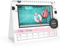 Calendar Wochen-Tischkalender Herzallerliebst 2022 page 8 preview
