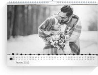 Calendar Wandkalender Bordüre 2022 page 2 preview