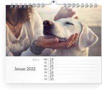 Calendar Wochen-Wandkalender Blanko Notizen 2022 page 4 preview
