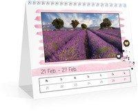 Calendar Wochen-Tischkalender Herzallerliebst 2022 page 10 preview
