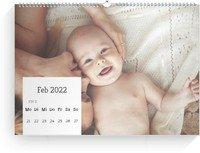 Calendar Wochenkalender Quadrat 2022 page 8 preview