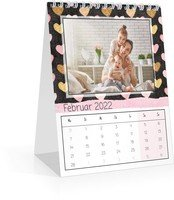 Calendar Monats-Tischkalender Herzallerliebst 2022 page 3 preview