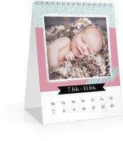Calendar Wochen-Tischkalender Kunterbunt 2022 page 8 preview