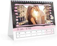 Calendar Wochen-Tischkalender Herzallerliebst 2022 page 7 preview