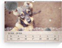 Calendar Wochenkalender Tintenklecks 2022 page 7 preview