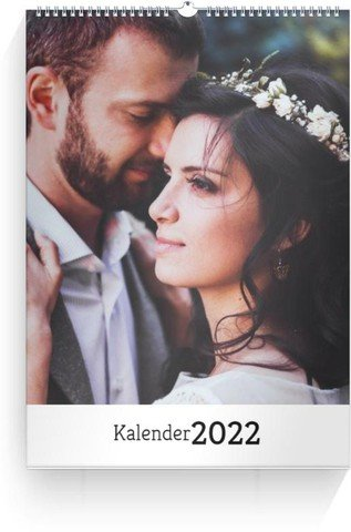 Calendar Blanko 2022 cover page preview