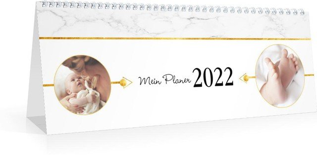 Calendar Terminplaner/Wochenplaner Marmor 2022 cover page preview
