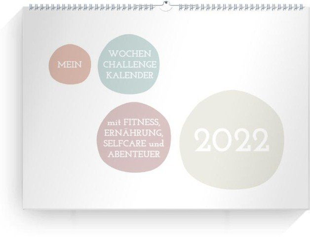 Calendar Wochen-Wandkalender Challenge 2022 cover page preview