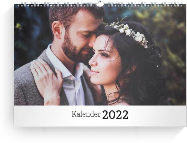 Calendar Blanko Collage Quer 2022 cover page preview