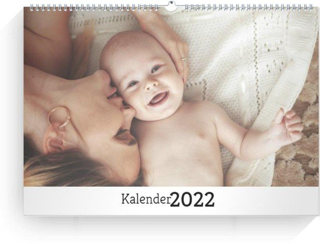 Calendar Blanko quer 2022 cover page preview