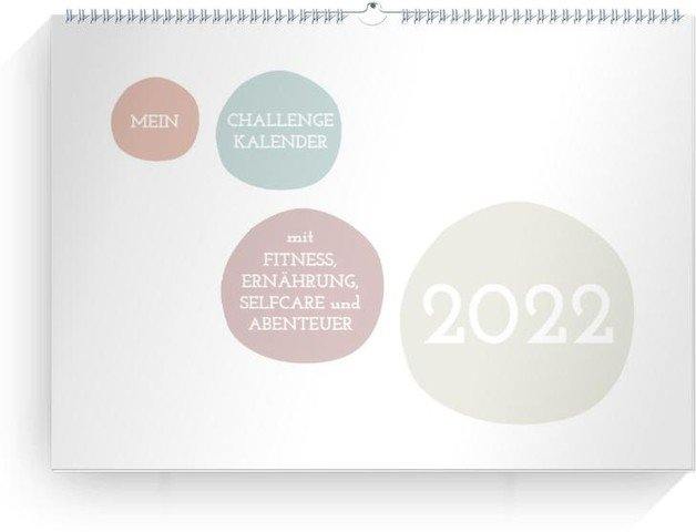 Calendar Wandkalender Challenge 2022 cover page preview