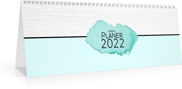 Calendar Terminplaner/Wochenplaner Aquarell 2022 cover page preview