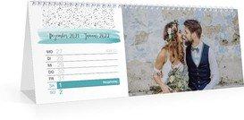 Wochen-Tischkalender Tagträumer - Weiß (297x105 Wochen-Tischkalender)