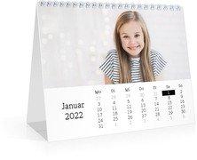 Tischkalender Blanko - Weiß (170x140 Monats-Tischkalender)