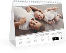 Wochen-Tischkalender Blanko Ethnoschick - Weiß (170x140 Wochen-Tischkalender)