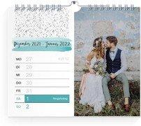 Wochen-Wandkalender Tagträumer - Weiß (170x140 Wochen-Wandkalender Quer)